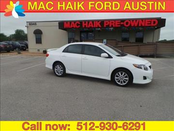 2010 Toyota Corolla for sale in Georgetown, TX