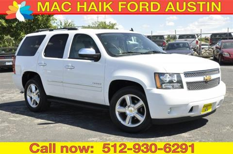 2013 Chevrolet Tahoe for sale in Georgetown, TX