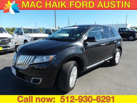 2015 Lincoln MKX for sale in Georgetown, TX