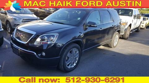 2010 GMC Acadia for sale in Georgetown, TX