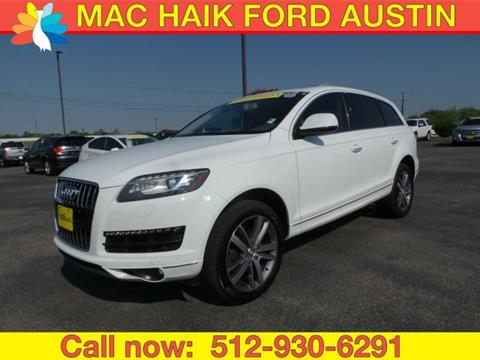 2014 Audi Q7 for sale in Georgetown, TX
