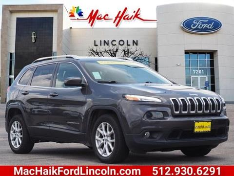 2016 Jeep Cherokee for sale in Georgetown, TX