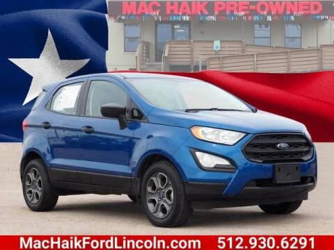 2018 Ford EcoSport for sale in Georgetown, TX