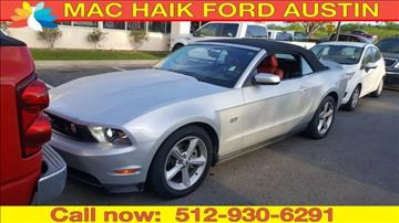 2010 Ford Mustang for sale in Georgetown, TX
