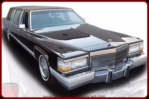 1991 Cadillac Brougham For Sale in Hopewell, VA - Carsforsale.com