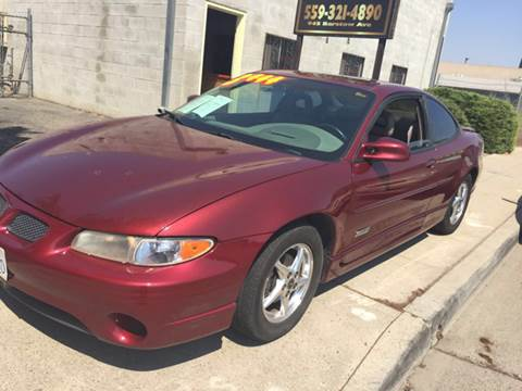 2000 Pontiac Grand Prix for sale in Clovis, CA