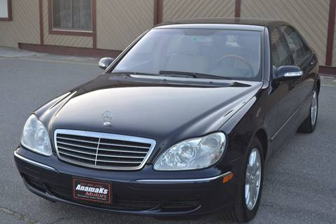 2003 Mercedes-Benz S-Class for sale in Hudson, NH