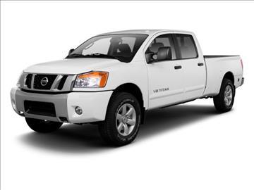2012 Nissan Titan for sale at BEAMAN TOYOTA SCION GMC BUICK in Nashville TN