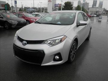 2016 Toyota Corolla for sale at BEAMAN TOYOTA SCION GMC BUICK in Nashville TN
