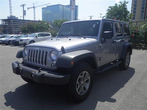 2015 Jeep Wrangler Unlimited for sale in Nashville, TN