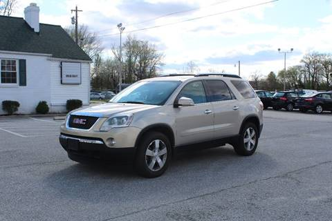 2009 GMC Acadia for sale in Waldorf, MD