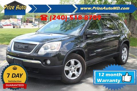 2008 GMC Acadia for sale in Waldorf, MD