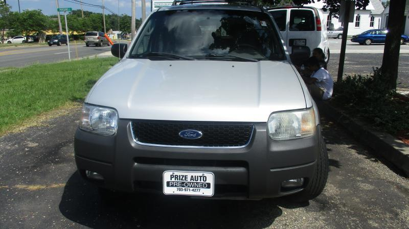 2002 FORD ESCAPE XLT CHOICE 4WD 4DR SUV silver mechanic special