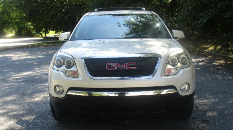 2007 GMC ACADIA SLT-2 AWD 4DR SUV white one owener navigation dvd head up display third raw seat