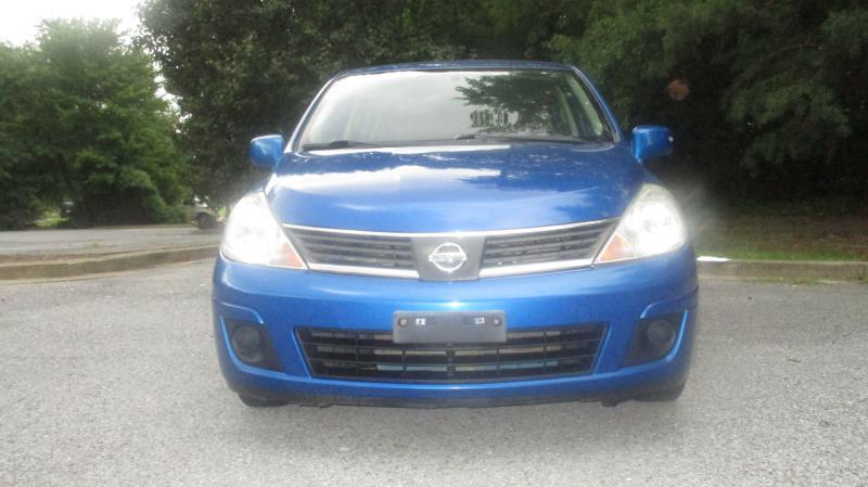 2008 NISSAN VERSA S blue air conditioning power windows power locks power steering tilt wheel