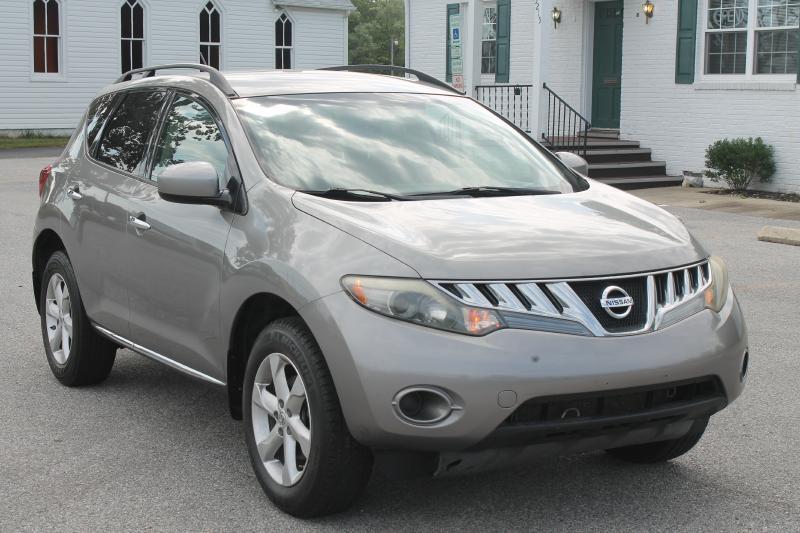 2009 NISSAN MURANO S AWD 4DR SUV gray air conditioning power windows power locks power steerin