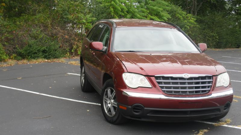 2007 CHRYSLER PACIFICA TOURING 4DR CROSSOVER burgan air conditioning power windows power locks