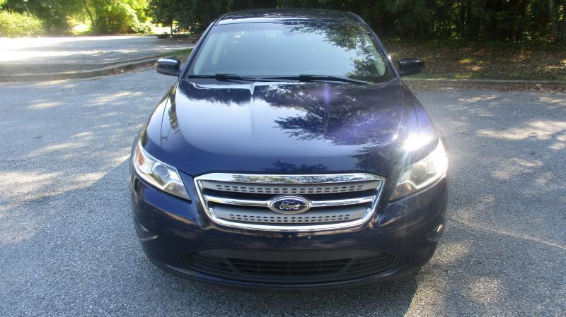 2011 FORD TAURUS SEL AWD 4DR SEDAN blue air conditioning power windows power locks power steeri