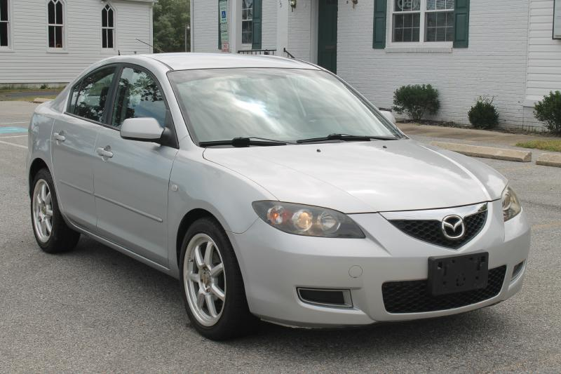 2007 MAZDA MAZDA3 I silver air conditioning power windows power locks power steering tilt whe