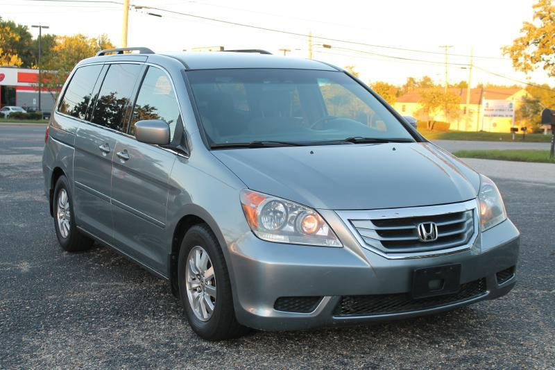 2009 HONDA ODYSSEY EX 4DR MINI VAN silver air conditioning power windows power locks power ste
