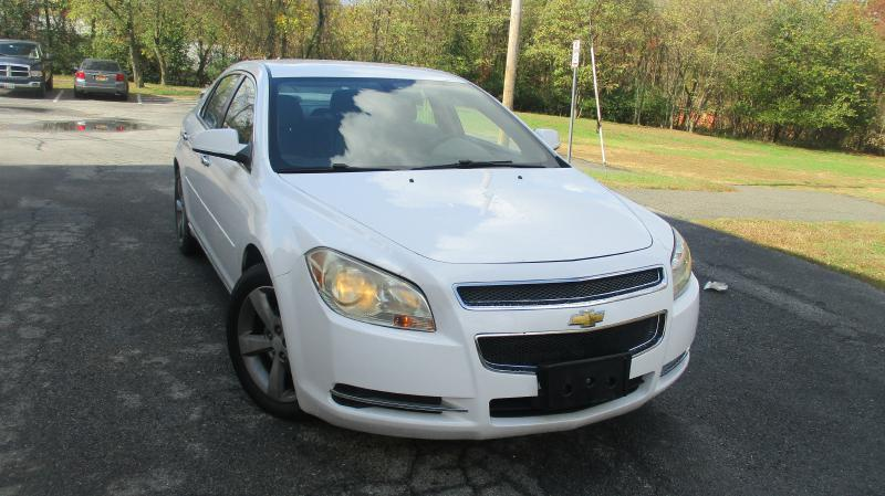 2012 CHEVROLET MALIBU LT 4DR SEDAN W1LT white air conditioning power windows power locks powe