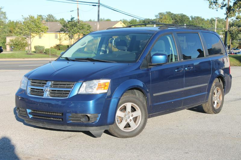 2010 DODGE GRAND CARAVAN SXT 4DR MINI VAN blue air conditioning power windows power locks powe