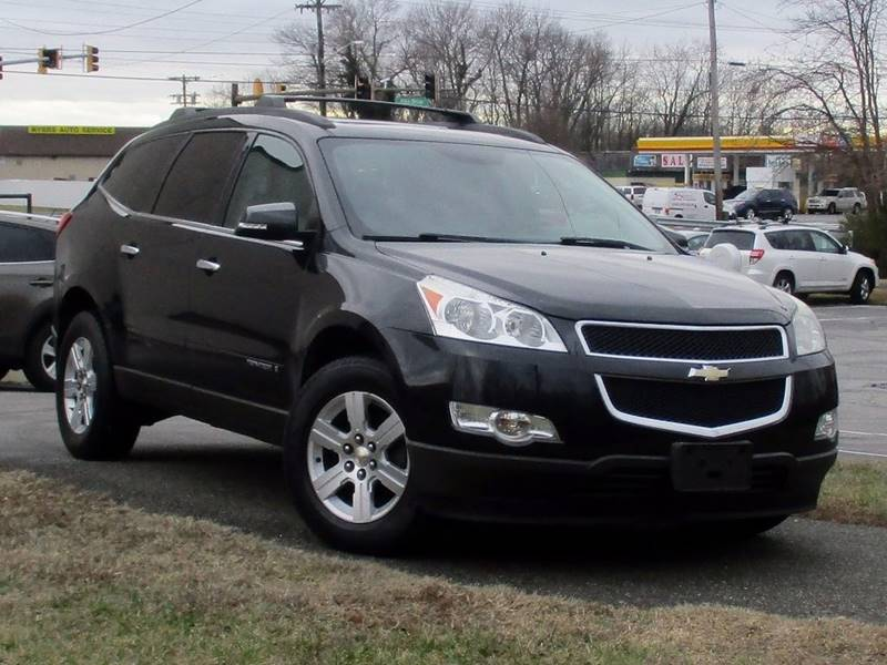 2009 CHEVROLET TRAVERSE LT 4DR SUV W2LT black complimentary 3 months3000 miles engine tran