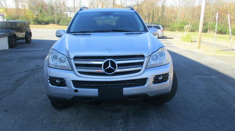 2007 MERCEDES-BENZ GL-CLASS GL450 AWD 4MATIC 4DR SUV silver air conditioning power windows powe