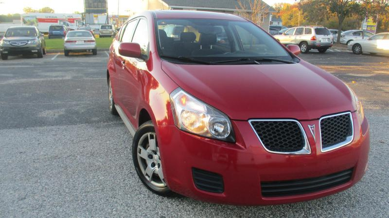 2009 PONTIAC VIBE 24L 4DR WAGON red complimentary 3 months3000 miles engine transmission