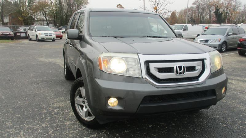 2009 HONDA PILOT EX-L 4X4 4DR SUV gray exl fully loaded 4wd dual front airbags side airbags hea