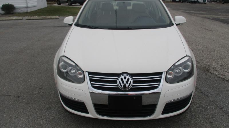 2008 VOLKSWAGEN JETTA SE 4DR SEDAN 6A white air conditioning power windows power locks power s