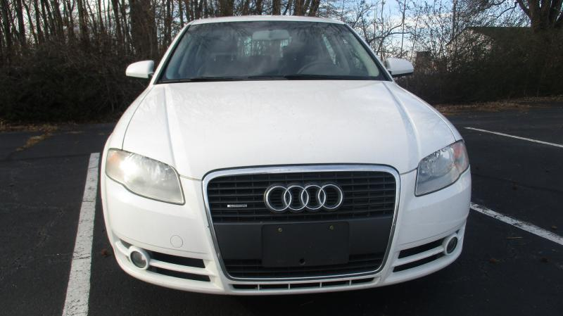 2007 AUDI A4 20T QUATTRO AWD 4DR SEDAN 2L I white turbo quatro air conditioning power windows