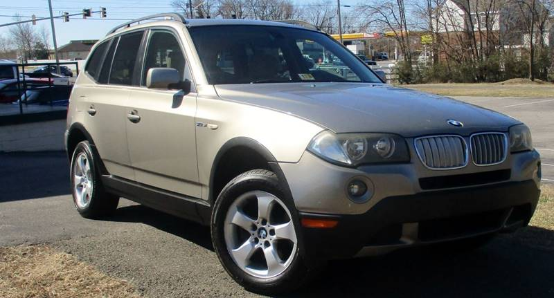 2007 BMW X3 30SI AWD 4DR SUV gold complimentary 3 months3000 miles engi