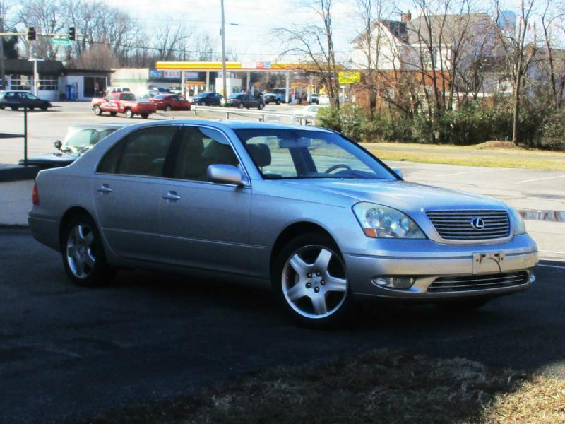 2002 LEXUS LS 430 BASE 4DR SEDAN silver air conditioning power windows power locks power steer