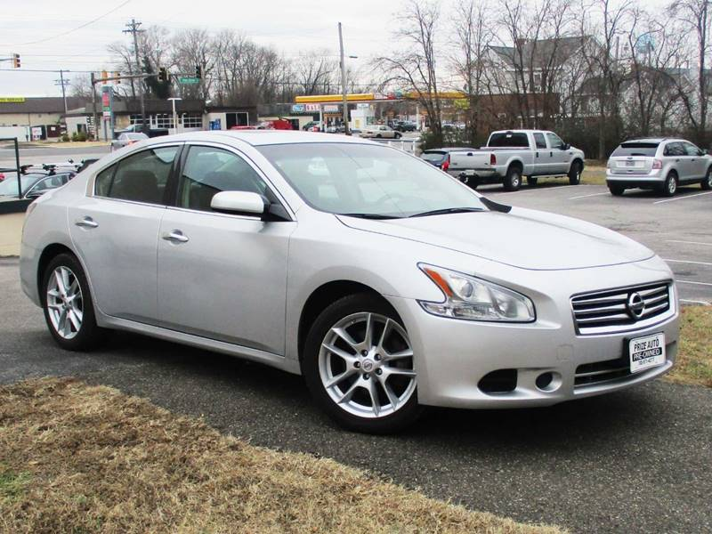 2012 NISSAN MAXIMA 35 S 4DR SEDAN silver complimentary 3 months3000 mil