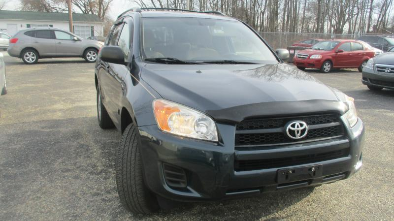 2009 TOYOTA RAV4 BASE 4X4 4DR SUV green air conditioning power windows power locks power steer