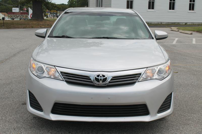2012 TOYOTA CAMRY L 4DR SEDAN silver air conditioning power windows power locks power steering