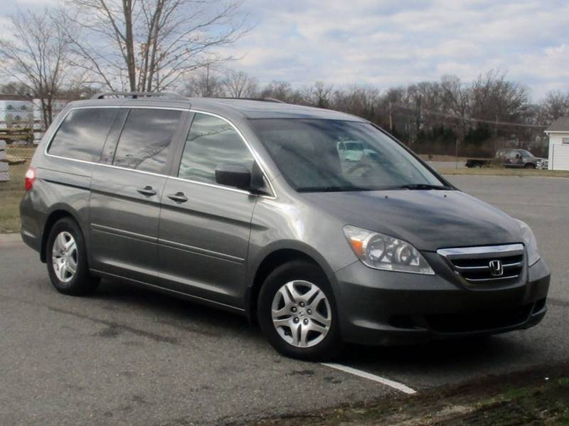 2007 HONDA ODYSSEY EX-L WDVD 4DR MINI VAN WDVD gray complimentary 3 months3000 miles engin