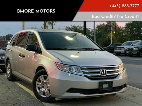 2013 Honda Odyssey for sale in Baltimore, MD