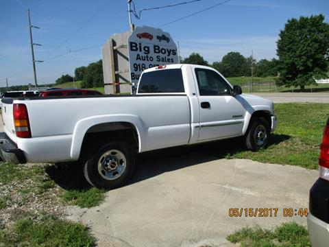 2003 GMC Sierra 2500 for sale in Vian OK