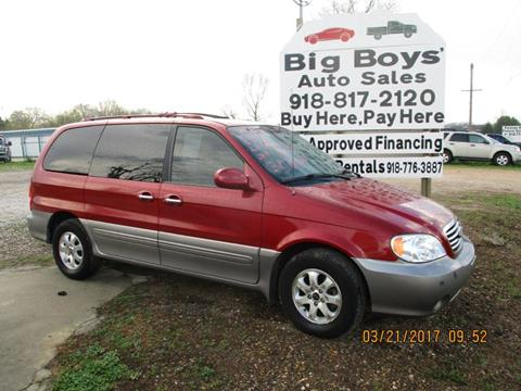 2005 Kia Sedona for sale in Vian OK