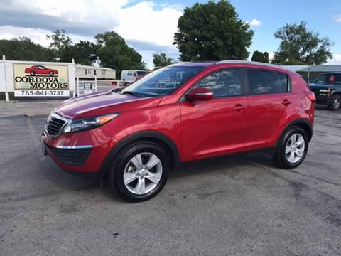 2012 Kia Sportage for sale at Cordova Motors in Lawrence KS