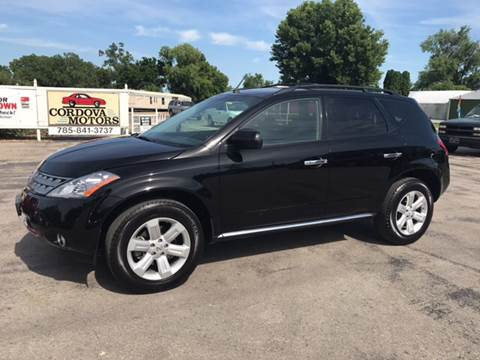2007 Nissan Murano for sale at Cordova Motors in Lawrence KS