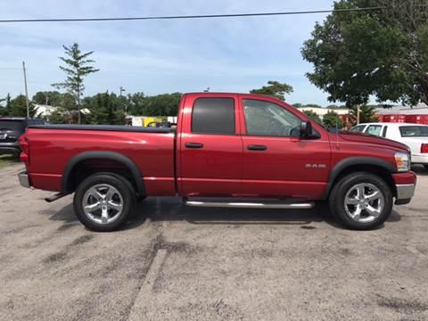 2008 Dodge Ram Pickup 1500 for sale at Cordova Motors in Lawrence KS