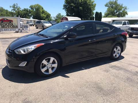 2012 Hyundai Elantra for sale at Cordova Motors in Lawrence KS