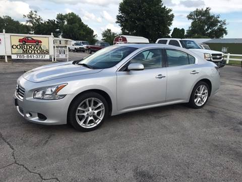 2014 Nissan Maxima for sale at Cordova Motors in Lawrence KS