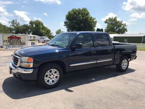 2005 GMC Sierra 1500 for sale at Cordova Motors in Lawrence KS
