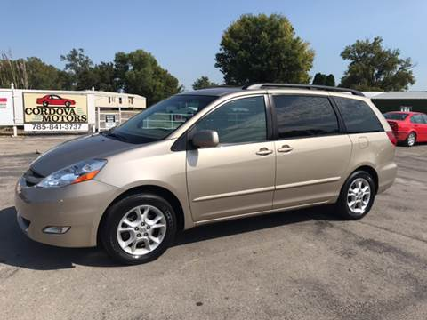 2006 Toyota Sienna for sale at Cordova Motors in Lawrence KS