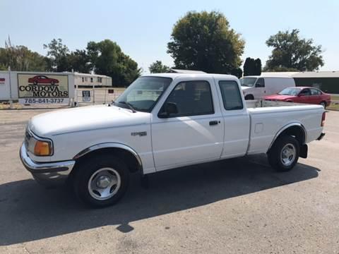 1996 Ford Ranger for sale at Cordova Motors in Lawrence KS