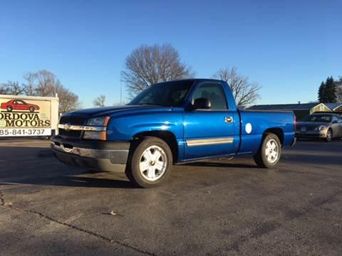 2003 Chevrolet Silverado 1500 for sale at Cordova Motors in Lawrence KS